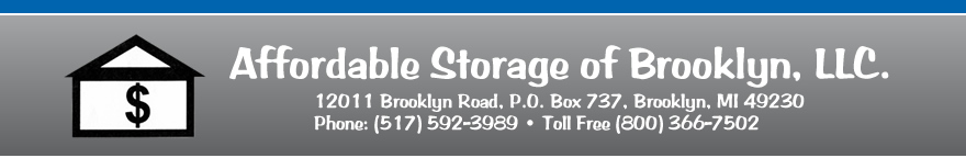 Affordable Storage of Brooklyn Michigan